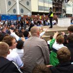 Elland Road Protests In August 2011