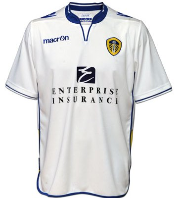 2012-13 Leeds United Home Shirt