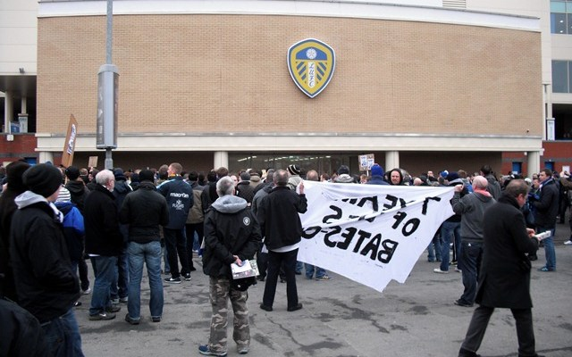 Elland Road protests