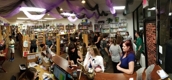 Harry Potter Decorated Bookstore