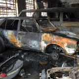 Nigerian Car Dealership shop burnt down in South Africa