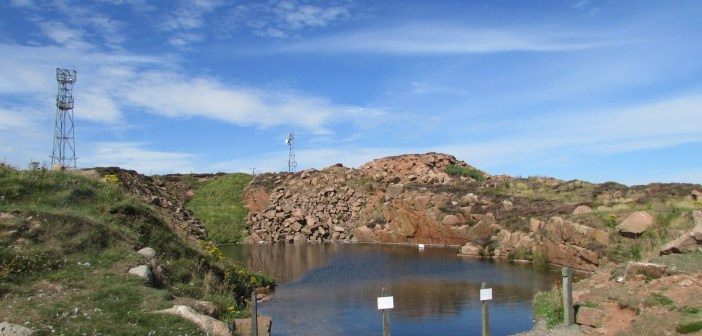 Boddam Quarry at The Scuba News