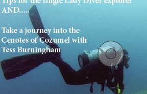 Lady Diver Magazine at The Scuba News