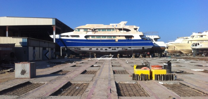 A Trip To The Dry Dock at Safaga, Red Sea, Egypt