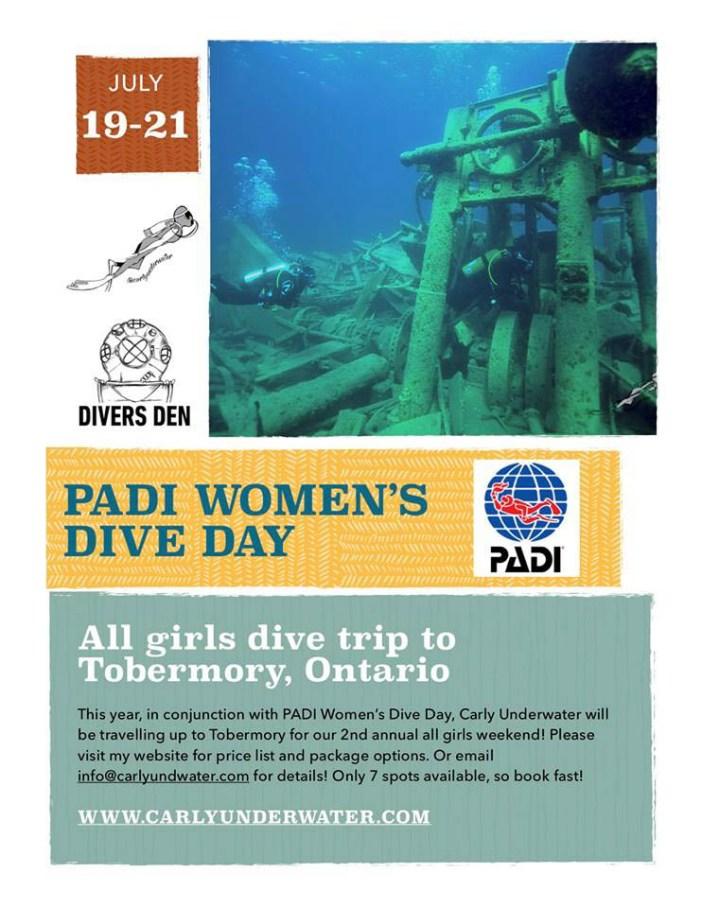 PADI Womens Dive Day