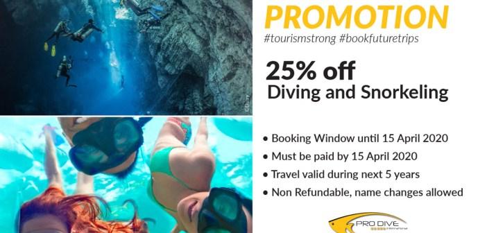 Pro Dive International / Coronavirus / COVID-19 Announcement