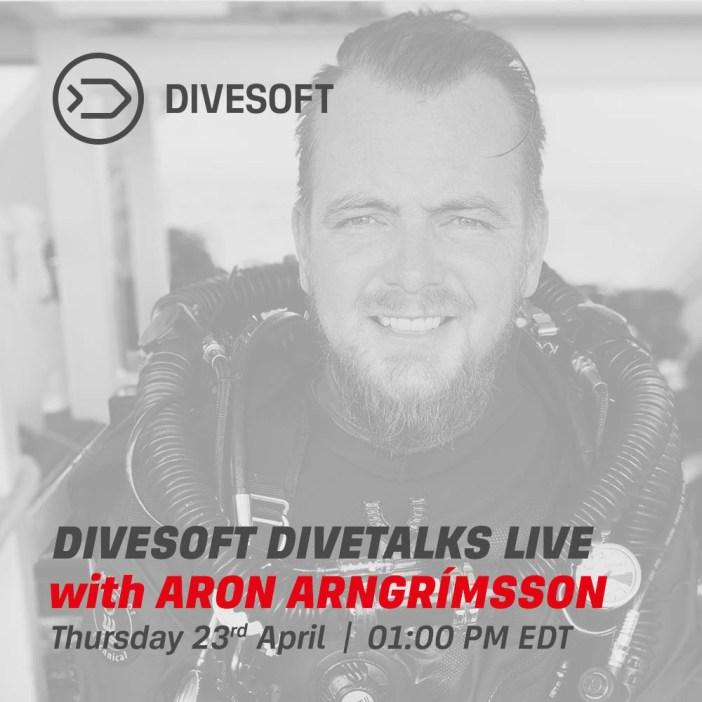 Divesoft DIVETALKS - Aron Arngrímsson