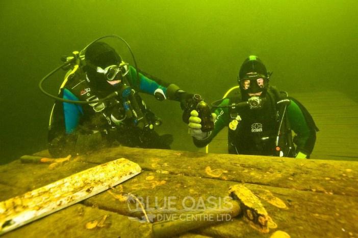 Diving Westhawk Lane