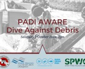 PADI AWARE – Dive Against Debris®,   Kingston 2021
