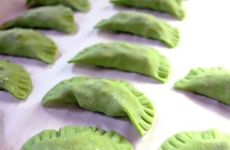 Seared Sesame Tuna Potstickers