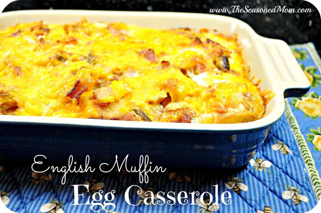 What We're Eating: English Muffin Egg Casserole