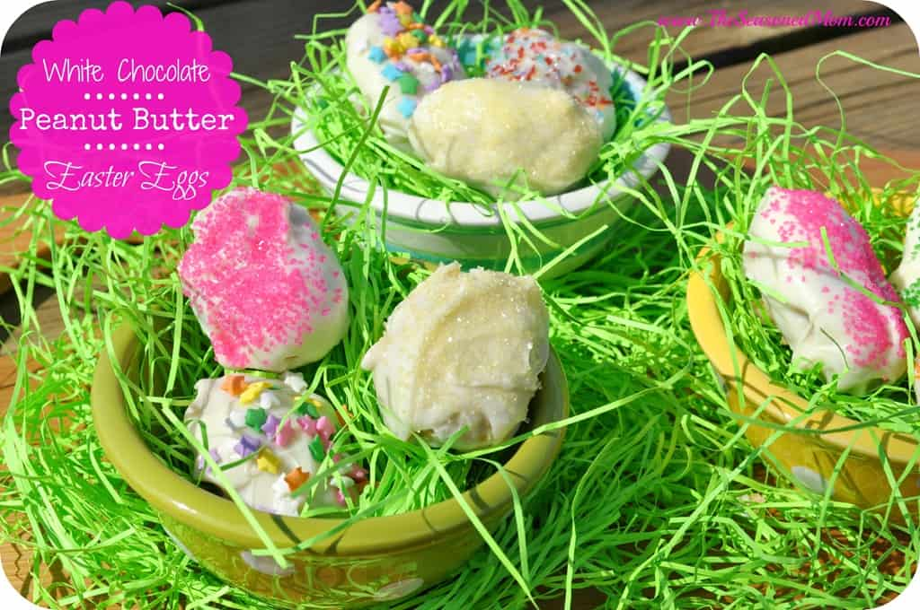 White Chocolate Peanut Butter Easter Eggs