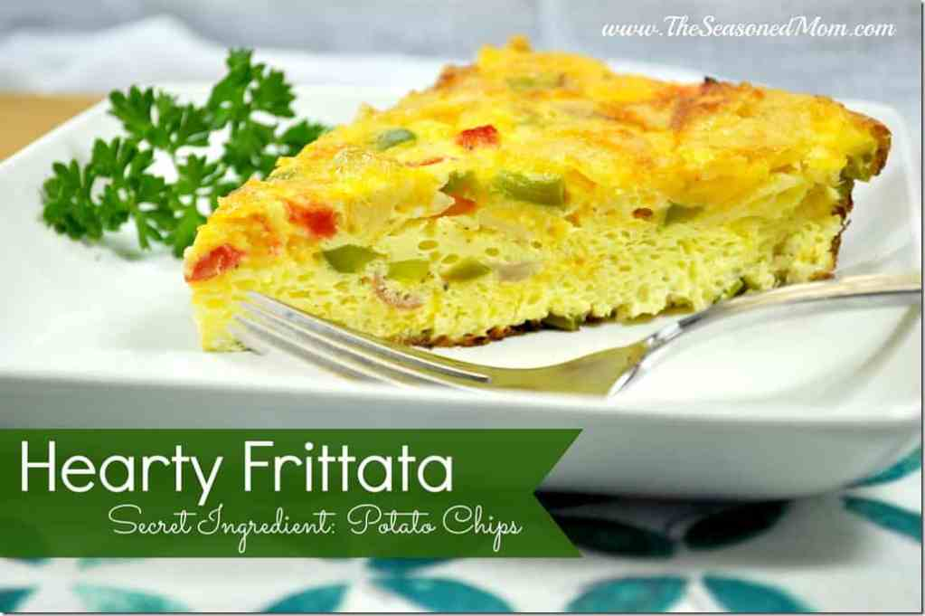 Hearty Frittata (with Potato Chips!)