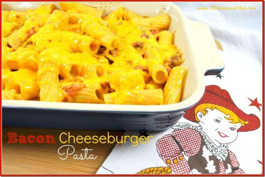 Bacon Cheeseburger Pasta