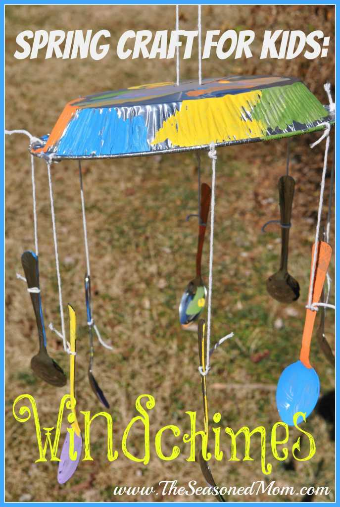 Spring Craft for Kids: Windchimes