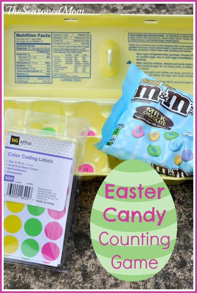 Easter Candy Counting and Color Sorting Game