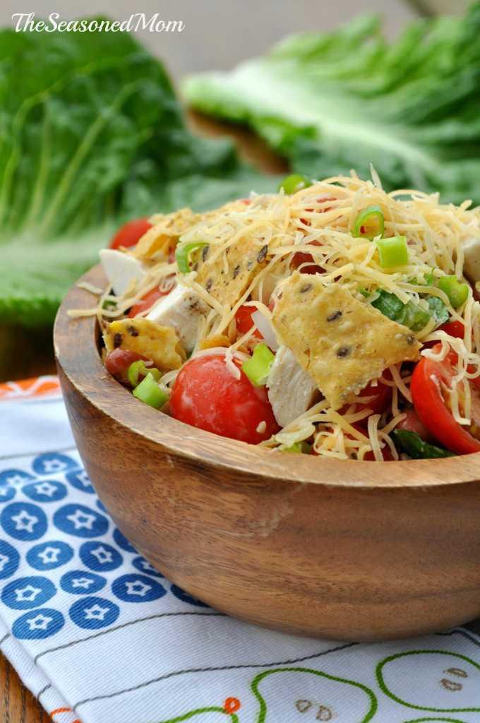 Mexican Ranch Chicken Salad