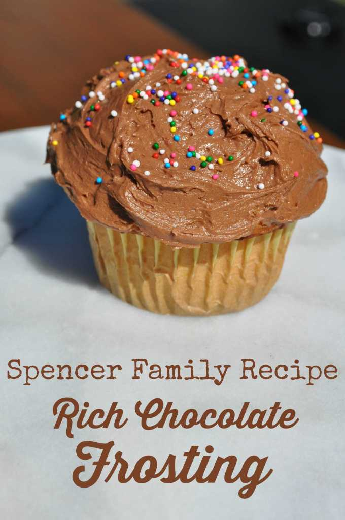 Spencer Family Recipe: Rich Chocolate Frosting