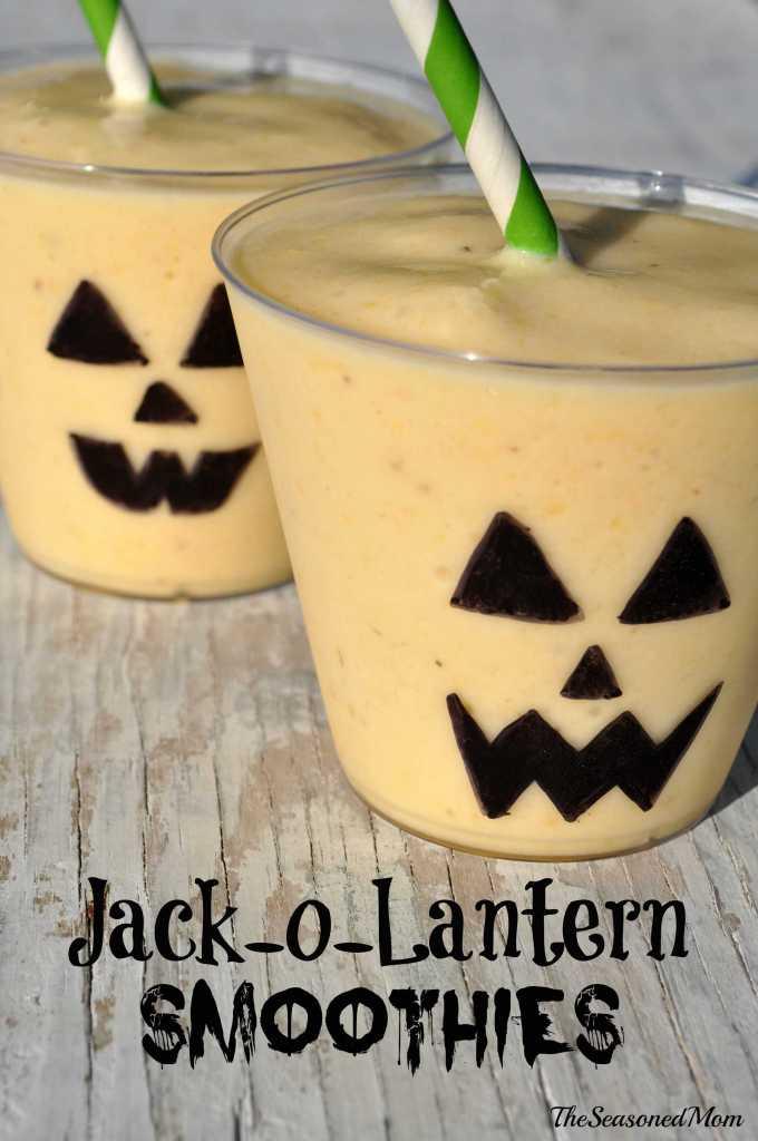 Jack-O-Lantern Smoothies