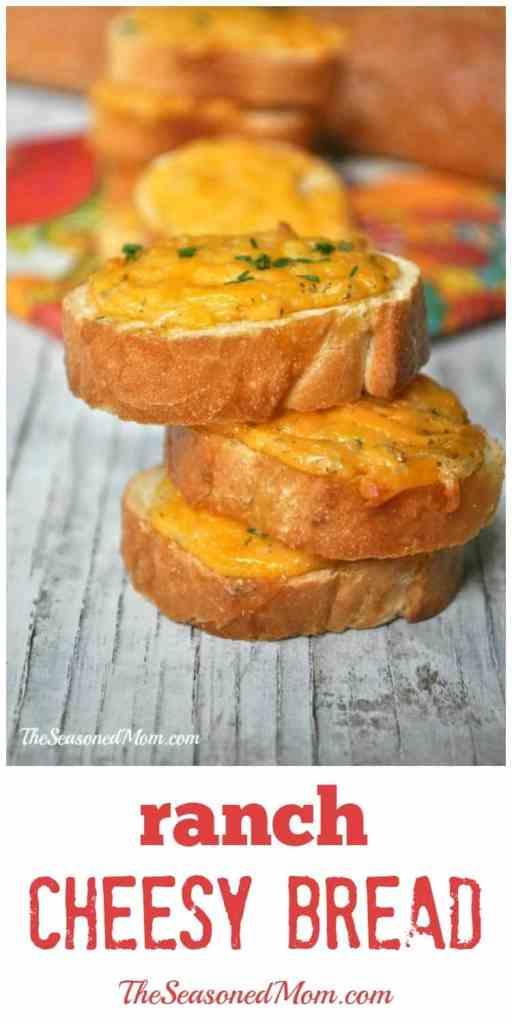 Easy Ranch Cheesy Bread