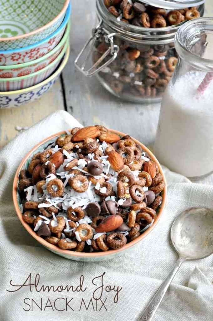 Chocolate Almond Coconut Snack Mix