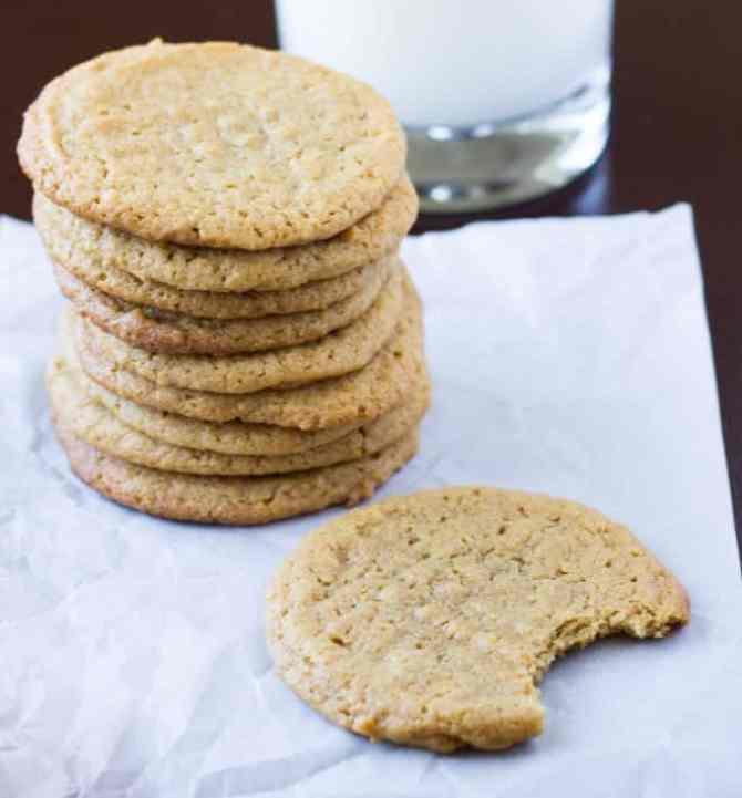 Flourless-Peanut-Butter-Cookies-Culinary-Hill-3-660x710