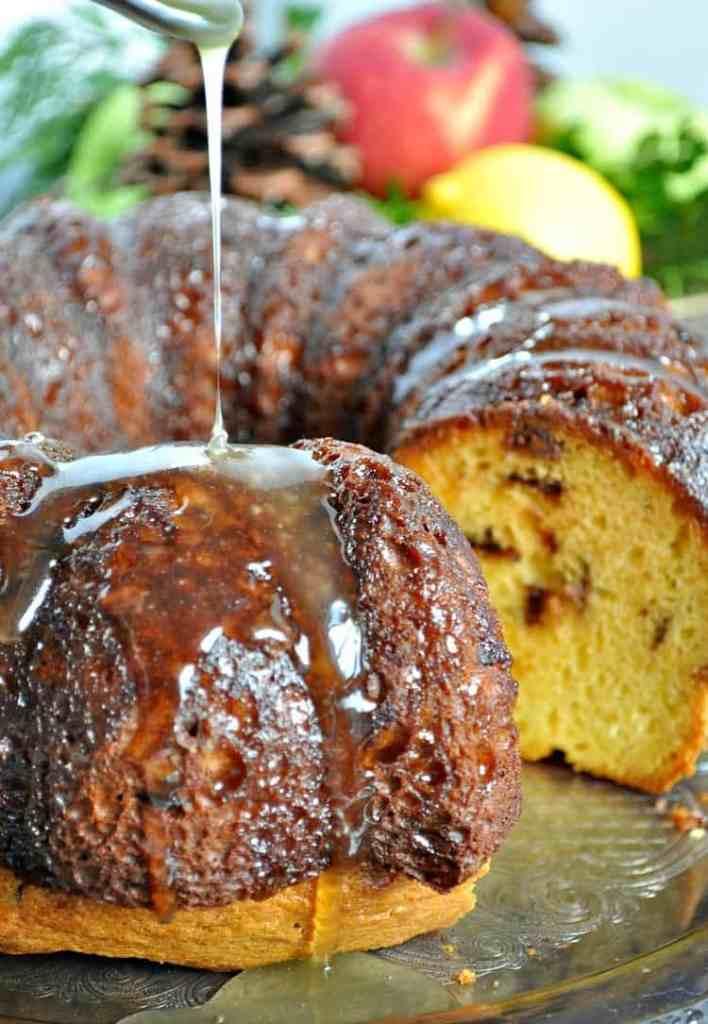 Chocolate Chunk Rum Cake