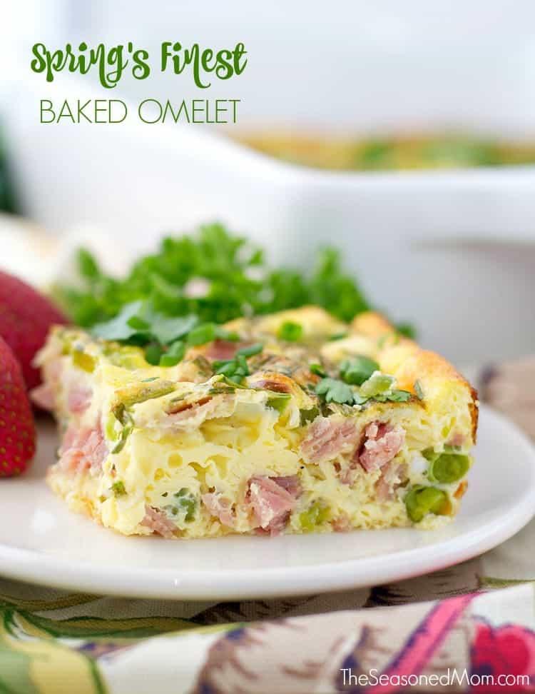 Spring's Finest Baked Omelet