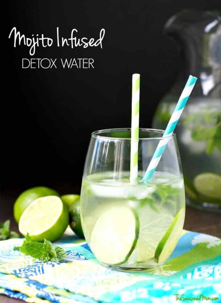 Mojito Infused Detox Water