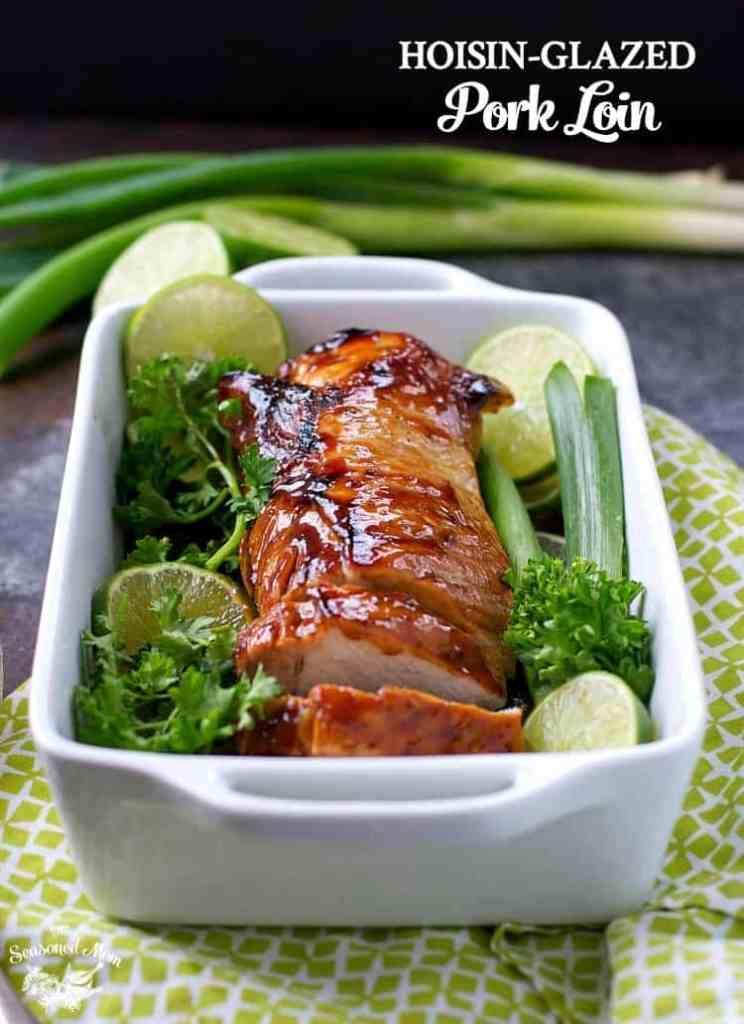 10-Minute Hoisin-Glazed Pork Loin