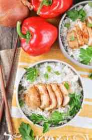 5-Ingredient Dump-and-Bake Chicken Teriyaki! Easy Dinner Recipes   Dinner Ideas   Chicken Recipes   Chicken Breast Recipes   Chinese Food   Chinese Recipes