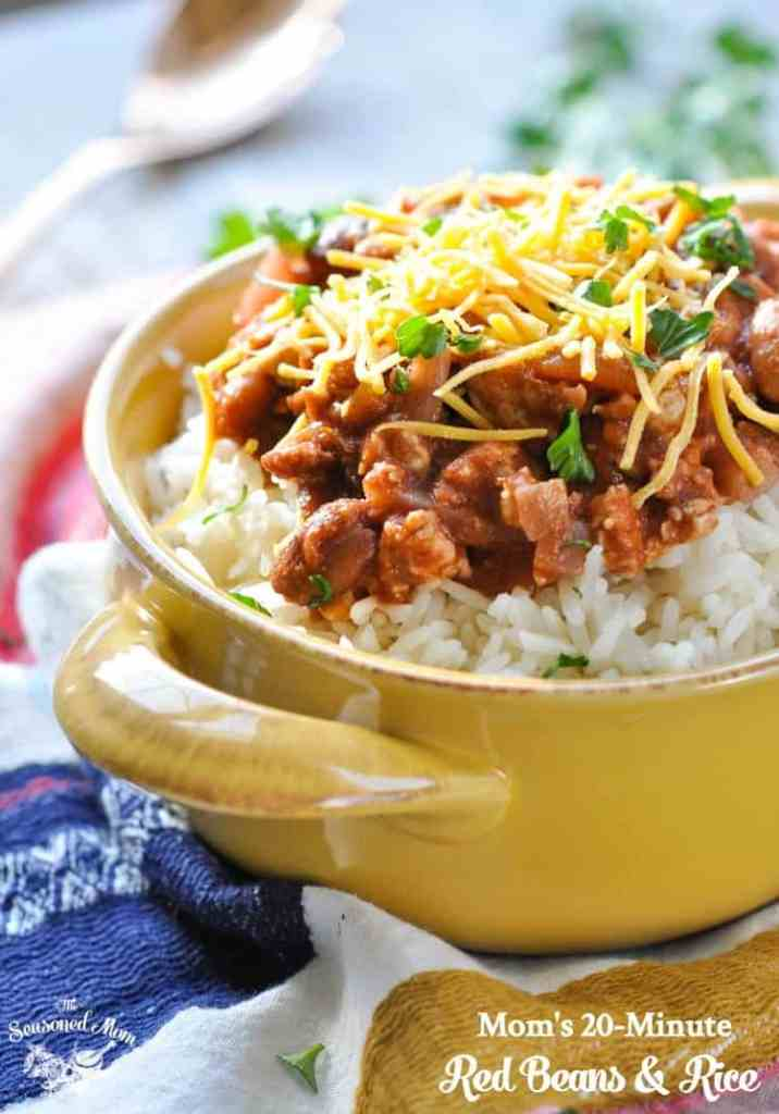 Mom's 20-Minute Red Beans and Rice