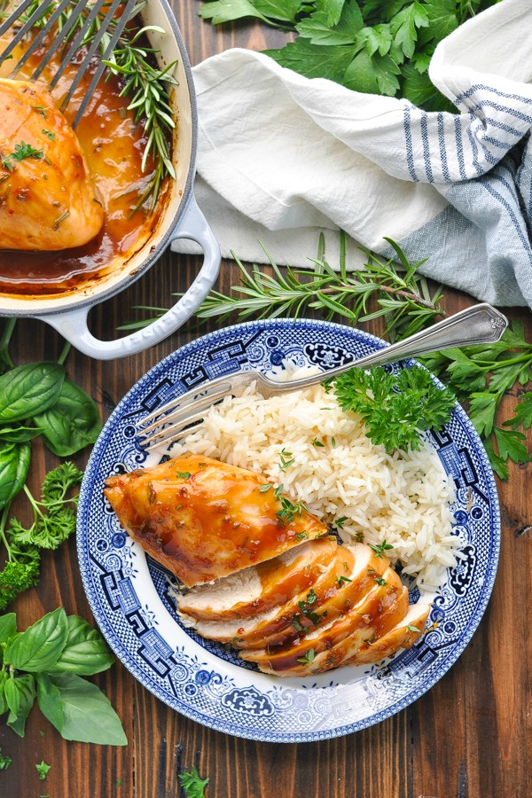 5 Ingredient Baked Chicken Breast Recipe