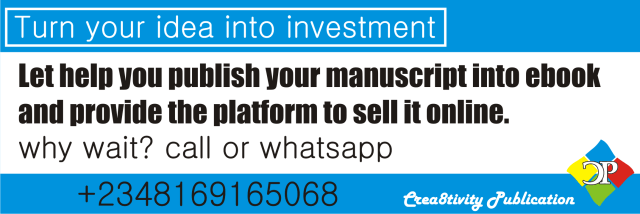 call +2348169165068 to publish your book online and hardcopies at a very affordable price