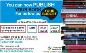 Your Can NOw Publish Your Book As Low As Your Budget