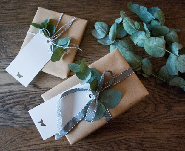 Christmas wrapping | These Four Walls blog