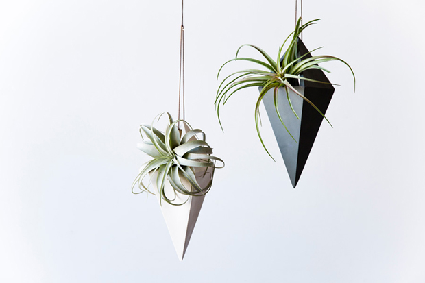Hanging planter by Light + Ladder | These Four Walls blog