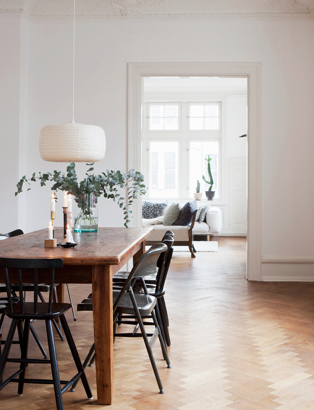 Scandinavian dining room inspiration | These Four Walls