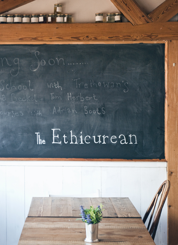 A lazy lunch at The Ethicurean | These Four Walls blog