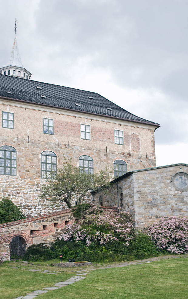 Askershus Fortress | A midsummer stay in Oslo | These Four Walls blog
