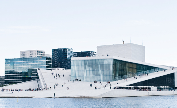 Oslo Opera House | A midsummer stay in Oslo | These Four Walls blog