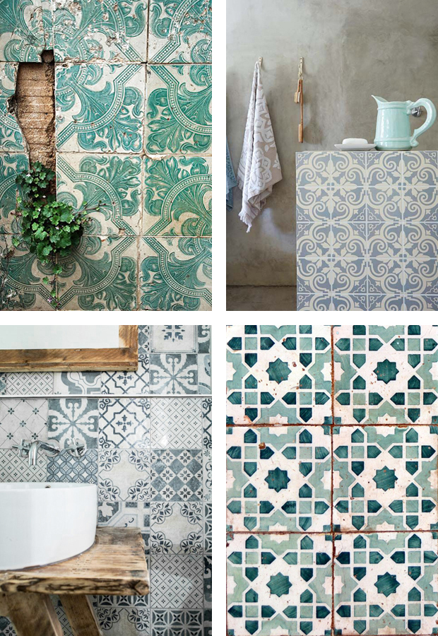 Tile inspiration | These Four Walls blog