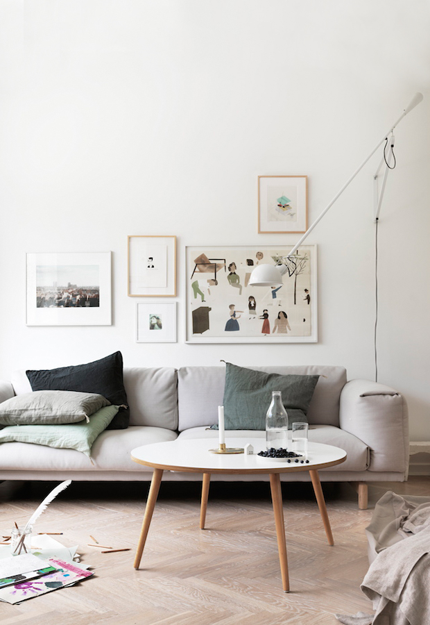 Gallery wall | These Four Walls blog