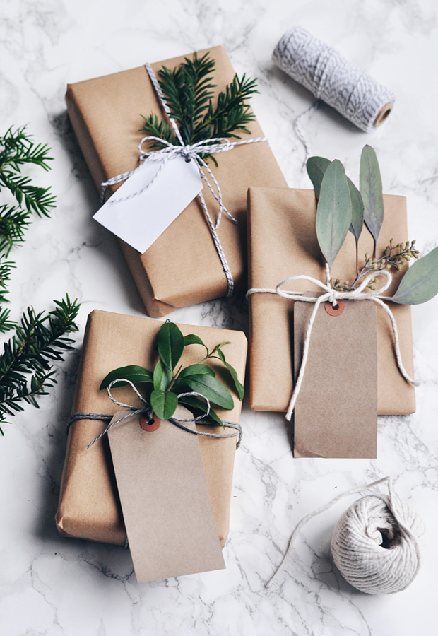 Festive wrapping inspiration These Four Walls