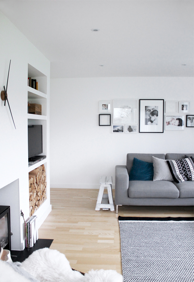 Home tour | A bright white family house | These Four Walls blog