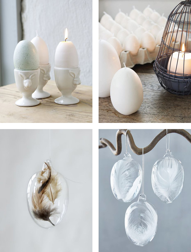 Egg-themed spring styling | These Four Walls blog