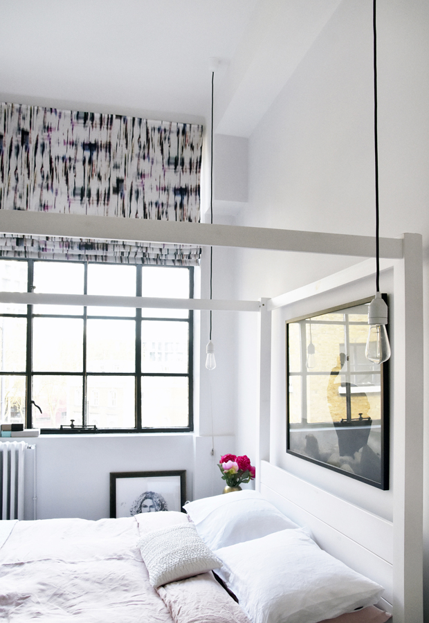 Home tour | A monochrome London apartment | These Four Walls blog