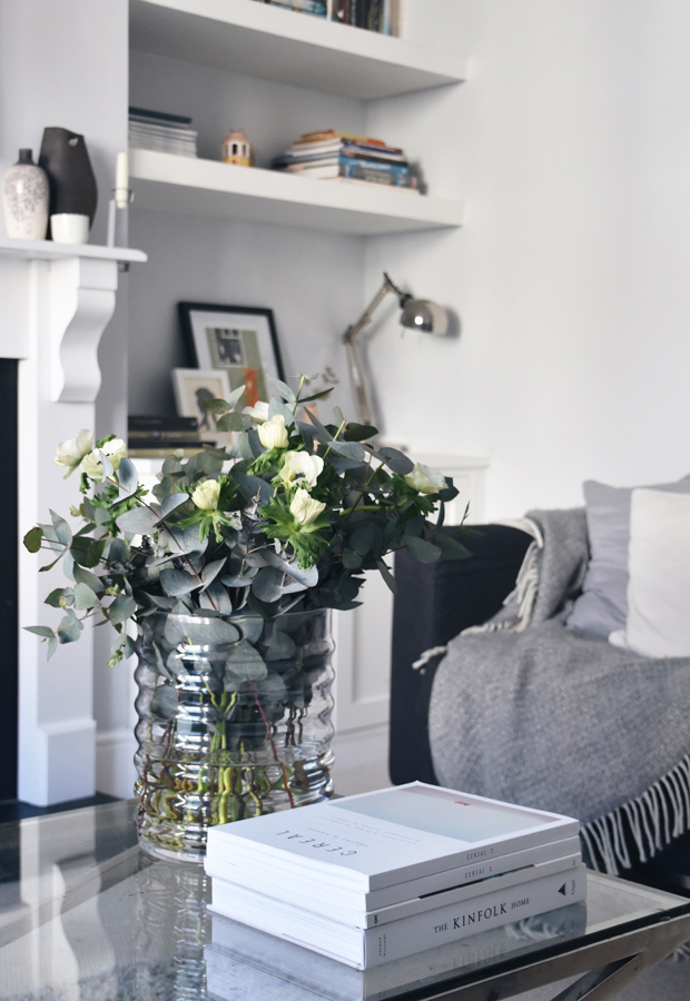Styling spring flowers with Addition Store | These Four Walls blog
