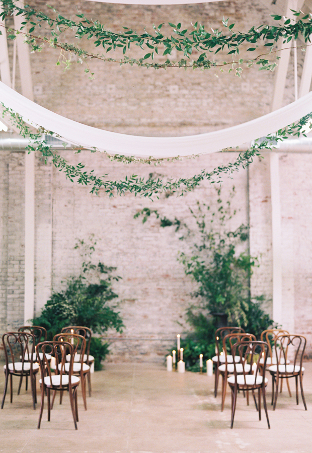 Wedding mood board | Industrial chic | These Four Walls blog