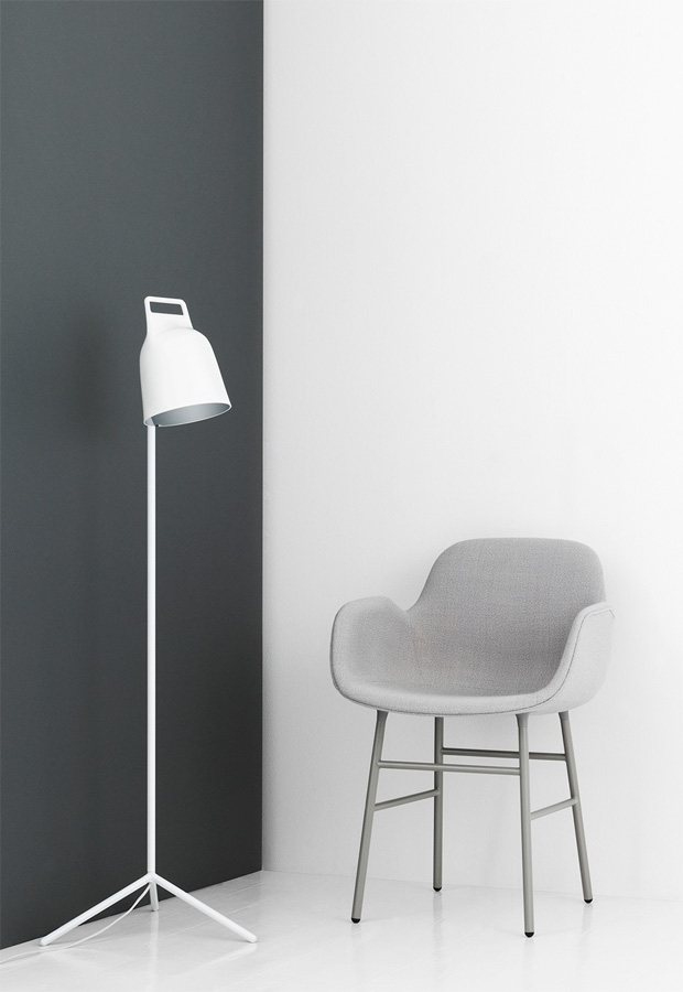 'Stage' floor lamp from Normann Copenhagen | New furniture and homeware finds - September 2016 | These Four Walls blog